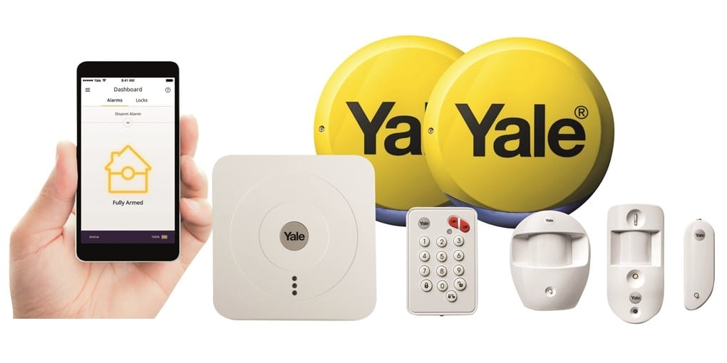 Yale Home Alarm Installation